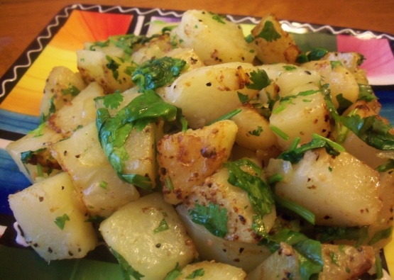 Lebanese Spiced Potatoes Batata Harra