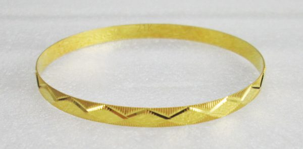21 K Yellow Gold Bangles